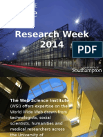 Research Week 2014 Presentation