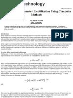 Vacuum Tube Parameter Identification Using Computer Methods