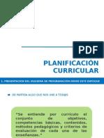 1 Presentacion Planificacion Curricular