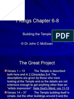 1 Kings Chapter 6-8