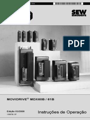 Sew Eurodrive filtro de partida hf075-503