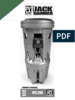 JackHammer Owners Manual