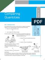 Comparing Quantities