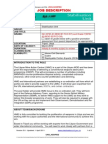 Libya Project Job Spec for MANPADs and weapons recovery program