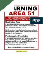 Warning Area51