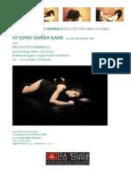 iO SONO SARAH KANE comunicato stampa 2015.pdf