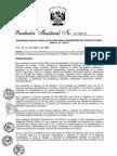Gobierno archivó plan aprobado y consensuado anterior a la ley 'pulpín'