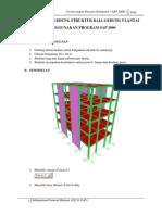 struktur baja dengan SAP2000