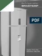 manual refrigerador brastemp