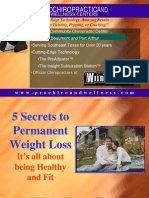 5 Secrets- Weight Loss