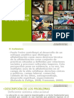 Analfabetismo en El Perú