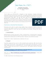 XML Over HTTP v1.2 - 04 November 2011