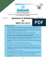 Neet 2013 Paper