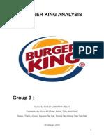 Burger King Group 3 Submit
