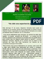 Nota de Prensa Alejandro Valverde (17!01!10)