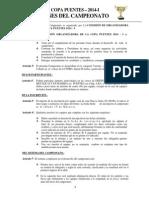 Bases Del Campeonato Copa Puentes 2014-i