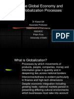 The Global Economy and Globalization