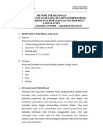 Metode Perbaikan Waterproofing Membran