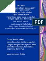 Definisi Dan Klasifikasi