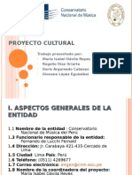 Proyecto Cultural