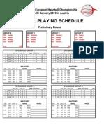 Match Schedule AUT 2010 Final 091111