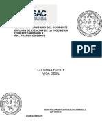 Columna Fuerte, Viga Debil