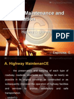 Highway Maintenance and Rehabilitation
