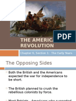 The American Revolution Part 1