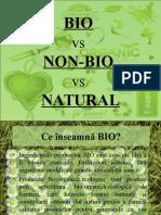 Bio vs Non-bio vs Natural