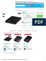 HD Externo Portátil My Passport Ultra WD Preto 1TB - Submarino.com