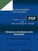 Tecnicas Atuariais dos Seguros.ppt