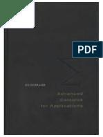 calculo avanzado para aplicaciones