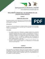 Reglamento laboratorios basicos
