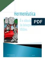 Curso Hermeneutica Módulo2- 2012-PT