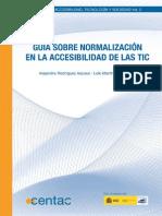 Guía sobre la Normalizacion en la accesibilidad de las TIC