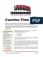 Coaches Time Out Issue 3 2008