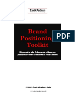 Brand Positioning Toolkit