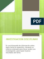 Investigacion Disciplinar