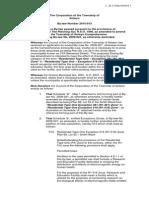 Woodland Acres draft bylaw