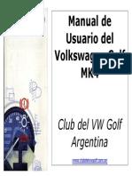 VW Golf IV Manual Usuario