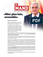 Profession de Foi Patrick ALLEMAND