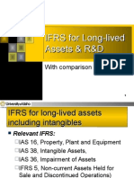 IFRS for PP&E, Intangibles, RnD, Etc