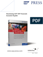 Maximizing SAP ERP Financials Accounts Payable