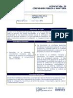 Programa de Metodología de La Investigación Lcpa 2013.Do Cx