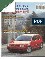 04 VW Golf IV - Manual Taller