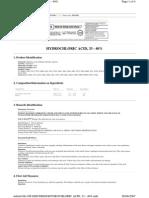 Hydrocholoric Acid
