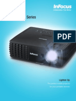 InFocus IN1110a IN1112a Datasheet