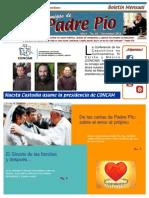 Amigos de Padre Pio Noviembre 2014