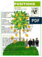 Prepositions Lemon Tree