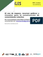 El uso de mapeos, recursos gráficos y visuales para la construcción de conocimiento colectivo